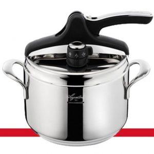 Idea-cucina-Pentola-a-Pressione-LAGOSTINA-Domina-Vitamin-5lt-con-fondo-Induzione-diametro-22cm-0
