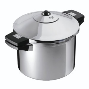 KUHN-RIKON-3016-Pentola-a-pressione-Duromatic-in-acciaio-INOX-con-manici-laterali-24-cm-4-litri-0